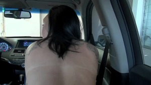 StreetBlowjobs: Petite Christina Lina lusts swallow