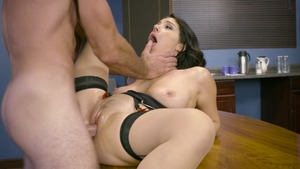 Big Tits at Work - Inked Valentina Nappi cheating