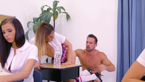 Big Tits at School - Quinn Wilde and Johnny Castle cumshot