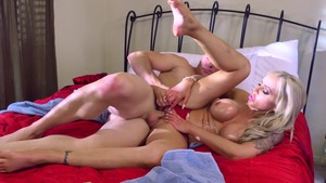 DirtyMasseur - American Nina Elle is a tattooed blonde babe