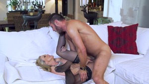 MILFsLikeItBig - Business woman Brandi Love ass fingering
