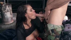 Brazzers.com - Peta Jensen starring Johnny Sins outdoors