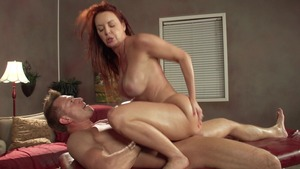 Brazzers.com: Muscled Janet Mason giving head for Bill Bailey