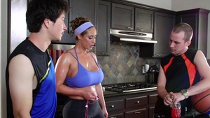 Brazzers - Eva Notty POV blowjob in the kitchen HD