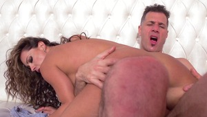 MILFsLikeItBig: Esperanza Gomez in crazy clean cumshot