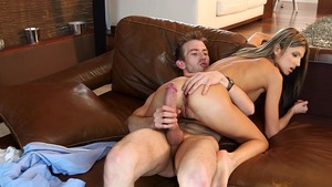 TeensLikeItBig: Gina Gerson pussy fucking sex tape