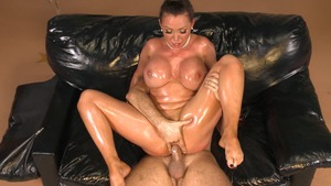 Big Wet Butts - Spanking video amongst wet oiled Nikki Benz