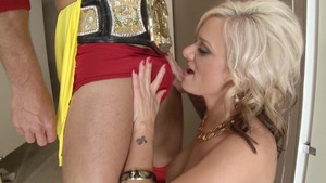 MILFsLikeItBig - Blonde hair Kate Frost ass licking