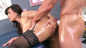 BigWetButts.com: Lisa Ann facial