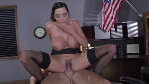 Big Tits at Work: Fantasy sex in company with Ariella Ferrera