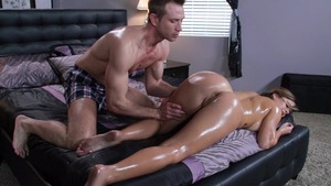 Dirty Masseur - Keisha Grey & Bill Bailey scene