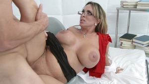 DoctorAdventures: Holly Halston is so huge boobs nurse