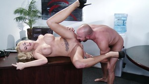 Big Tits at Work - Jessica Nyx & Will Powers tittyfuck