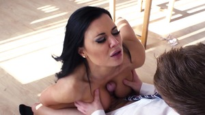 Big Tits at School: Gagging with Jasmine Jae and Ryan Ryder
