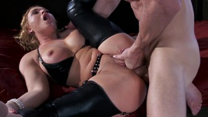 RealWifeStories.com - Dominatrix Krissy Lynn cock sucking