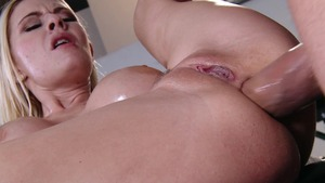 DirtyMasseur - Raunchy cock sucking with Riley Evans