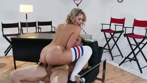 TeensLikeItBig: Erik Everhard and Mia Malkova handjob outdoors