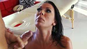 DirtyMasseur: Oil hard slamming together with Rachel Starr