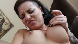 Baby Got Boobs: Brown hair Christy Mack spanking