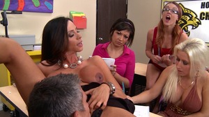 Big Tits at School - Ariella Ferrera & Mick Blue XXX