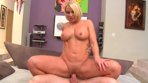 MILFsLikeItBig: Mellanie Monroe and Jordan Ash dick sucking