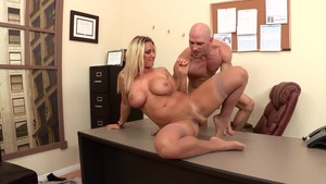 Big Tits at Work: Devon Lee & Johnny Sins XXX video