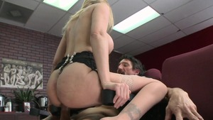 Big Tits at School: Julia Ann with Tommy Gunn after classes