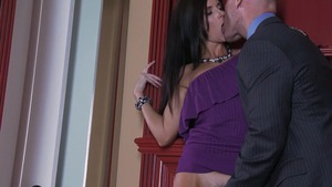 MILFsLikeItBig: Mature India Summer in high heels POV blowjob