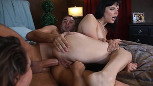RealWifeStories - Kristina Rose double blowjob