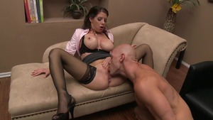 MILFs Like It Big - American Angel POV blowjob