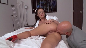 DoctorAdventures - Andy San Dimas wearing uniform fingering