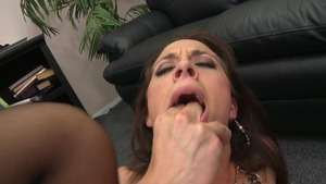 Big Tits at Work: American Chanel Preston ballet in office