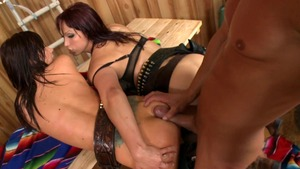Big Wet Butts: Carina Roman gonzo penetration porno