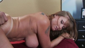 MommyGotBoobs: Darla Crane reverse cowgirl video