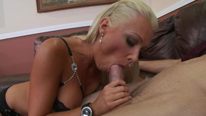 MILFsLikeItBig: Athletic Diana Doll gagging in restaurant