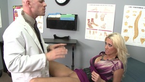 DoctorAdventures - Busty Tanya James wishes blowjob