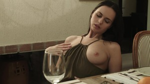 Hard sex on the table