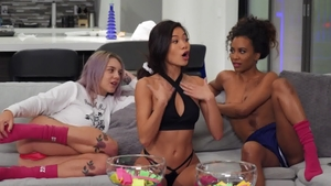 We Live Together: Sabina Rouge in company with Gabbie Carter