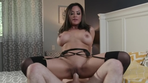 NewSensations.com: MILF Kaylani Lei throat fucking XXX video
