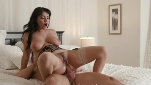Hot Wife XXX - Charlotte Cross is really large tits brunette