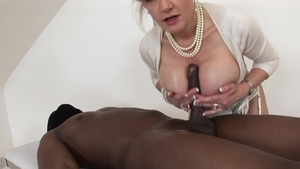 LadySonia.com: Wanking together with british mature