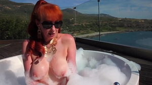 Red XXX - Pussy fuck in bath starring hottest MILF
