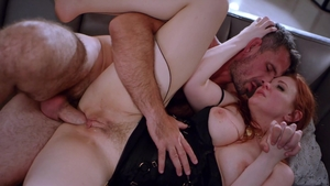 Deeper: Redhead Maitland Ward fucking in the ass