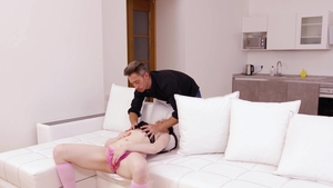 Fist4K: Torn Anzhelica moaning sex tape