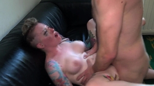 PascalsSubSluts - Piggy Mouth in hard submissive slapping