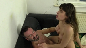 PascalsSubSluts - Hairy Luna Rival throat fucking